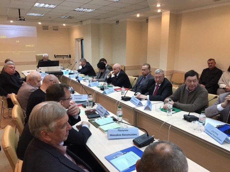 Поливода А.Н. принял участие в заседании специализированного совета диссертаций