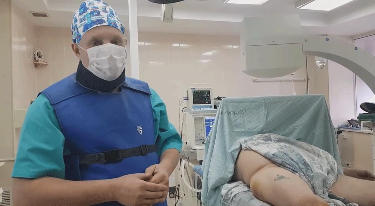 Чабаненко Диодмид Сергеевич: Как сделать боковую проекцию шейки бедра в положении больного на спине
