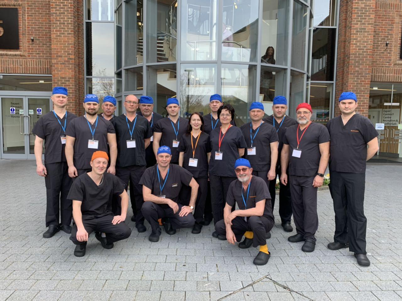 Обучающий курс по балансировке связок. Expert Connect Centre. Watford, UK